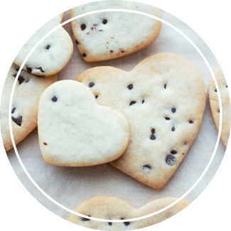 The Sweetness Bakeshop Heart Cookie